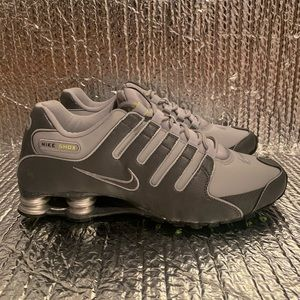 New Nike Shox NZ Dark Wolf Grey Volt Green